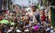 Bloco Céu na Terra levou 8 mil pessoas para o bairro