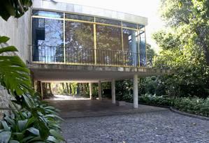 O Museu Chácara do Céu, de onde foram levadas telas de Picasso, Monet, Matisse e Dalí Foto: Divulgação / Jaime Acioli