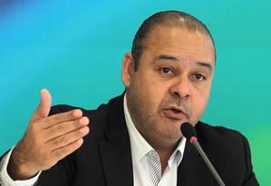 O presidente da CUT, Vagner Freitas Foto: Jorge William / Jorge William/30-04-2015