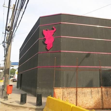 Pink Elephant. A fachada da boate: direção diz ter esclarecido tudo à polícia Foto: Giselle Ouchana / Giselle Ouchana