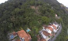 Desmatamento no Morro da Viração: área terá atenção do grupo para que não sofra mais degradação ambiental Foto: Felipe Hanower