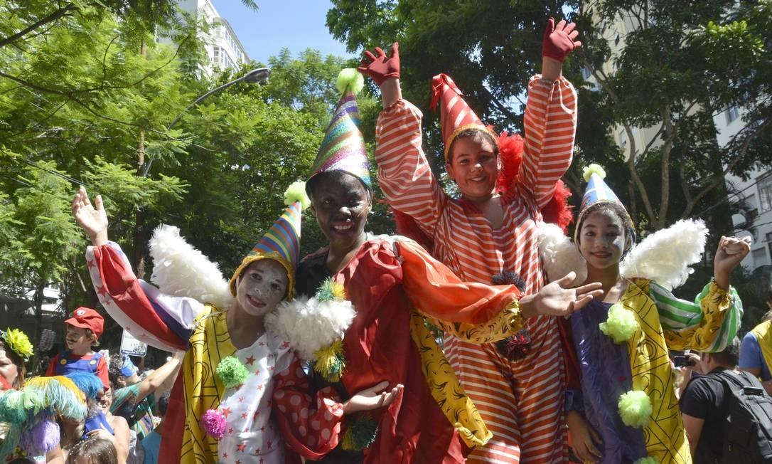Em Laranjeiras, o tradicional Gigantes da Lira encantou o público infantil Foto: Alexandre Macieira / Riotur