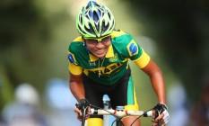 Trapaça. Uênia Fernandes foi pega em exame antidoping surpresa, contou que nunca havia sido testada no Brasil, apenas no exterior e ficará quatro anos afastada do ciclismo Foto: Divulgação