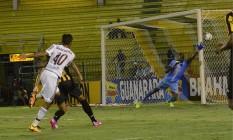 Contra o Volta Redonda, o Fluminense ameaçou pouco o gol rival Foto: Divulgação