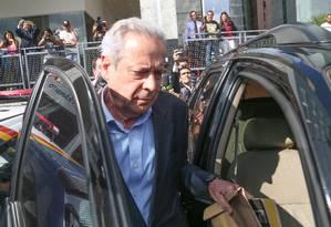 O ex-ministro da Casa Civil José Dirceu Foto: Andre Coelho - 04/11/2014 / Agência O Globo