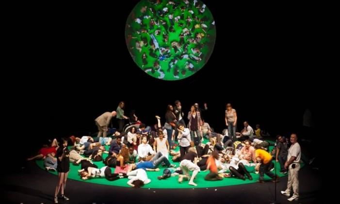 '100% São Paulo', de Rimini Protokoll Foto: Divulgação / Divulgação