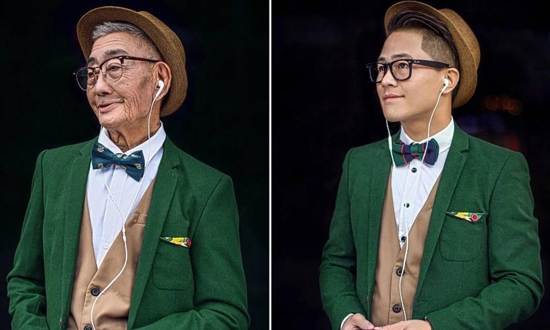 Conheça o agricultor chinês de 85 anos vira ícone de estilo