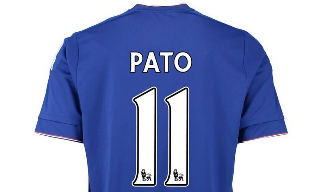 8f2d6c36266ec Alexandre Pato recebe a camisa 11 no Chelsea - Jornal O Globo