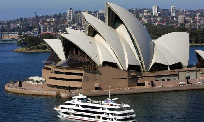 Sydney Opera House Foto: Greg Wood / AFP