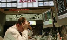 Em pouco mais de cinco anos, soma do valor de mercado das empresas listadas na Bovespa caiu de US$ 1,47 trilhão para US$ 410,4 bilhões Foto: Vania Delpoio / Agência O Globo