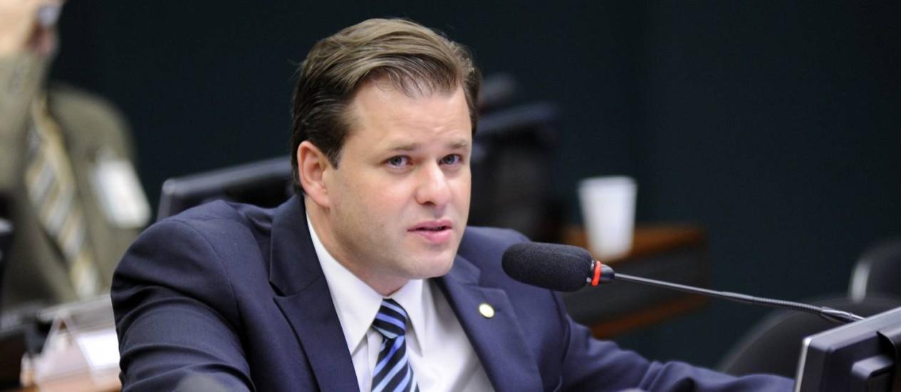 O deputado Leonardo Quintão (PMDB-MG) Foto: Lucio Bernardo Jr/Câmara dos Deputados/31-3-2015 / OGlobo