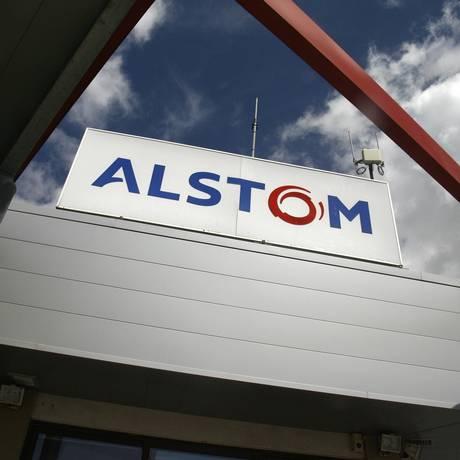 Imóvel da multinacional francesa Alstom em Aytré, na França Foto: Jean Pierre Muller / AFP / 6-5-2008