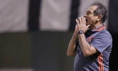 Muricy Ramalho disse que o Flamengo está melhorando Foto: Divulgação/Flamengo