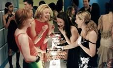 Cena do seriado 'Sex & the city': nos EUA agora, a recomendação é que mulheres que não usam contraceptivos devem ficar longe do álcool Foto: Divulgação