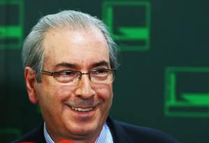 O presidente da Câmara dos Deputados, Eduardo Cunha (PMDB-RJ) Foto: Ailton de Freitas / Agência O Globo / 3-2-2016