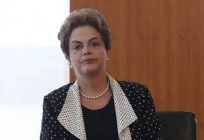 A presidente Dilma Rousseff Foto: André Coelho - 04/02/2016 / Agência O Globo