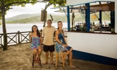 Há um mês, Márcia, Hélio e Mônica abriram o Primeira Poitada Foto: Agência O Globo / Bárbara Lopes