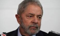 O ex-presidente Lula Foto: Michel Filho / Agência O Globo