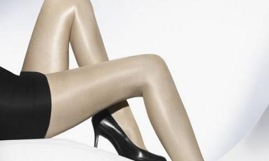Modelo da marca austríaca Wolford, usada por Beyoncé Foto: Divulgação