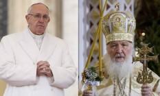 Principal tema da reunião entre Papa Francisco e o Patriarca Kirill deve ser a perseguição a cristãos no Oriente Médio Foto: Ivan Sekretarev / AP