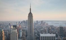 Sean Riddle chocou um drone contra o edifício Empire States Foto: WIKIPEDIA