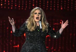 Adele em show de 2013 Foto: Chris Pizzello / Chris Pizzello/Invision/AP