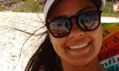 Monique, de 23 anos, não resistiu ao ser baleada Foto: Facebook / Divulgação