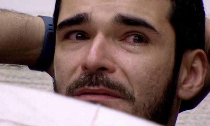 Alan pede para sair e deixa a casa do 'BBB' Foto: Reprodução - TV Globo
