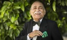 """Wilson das Neves, 62 anos de carreira, 13 discos e mais de 750 parceiros de gravação: """"Nesses 80 anos não me arrependo de nada. Sempre toquei por prazer em primeiro lugar. Não tenho ambição'' Foto: Fernando Lemos / Agência O Globo"""