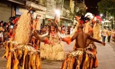 Com performances na Rua da Conceição, a Folia do Viradouro venceu o carnaval de Niterói no ano passado Foto: divulgação/neltur
