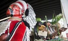 Escolas dos grupos C e D, em Oswaldo Cruz, que utilizam materiais de outras escolas ou materiais reciclados Foto: Ana Branco