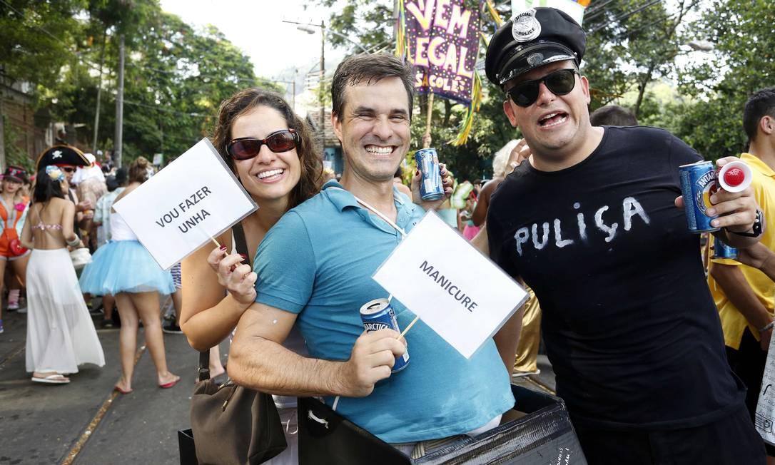 Fantasia Gordinho da Saveiro, de Pedro Draeger e Alexandra Ana Branco / Agência O Globo