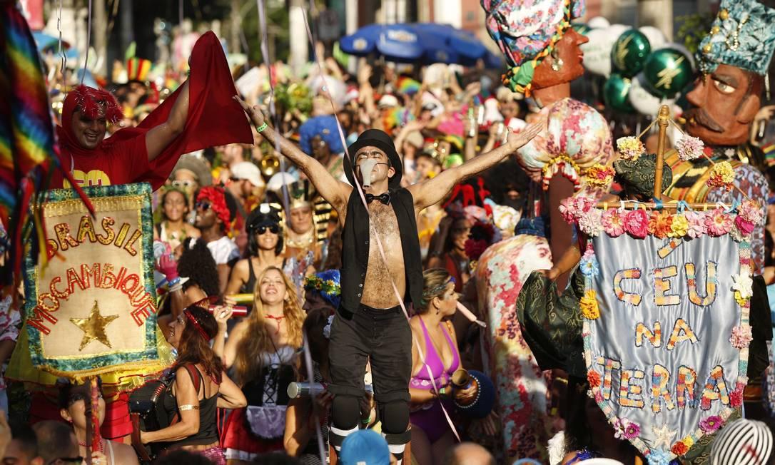 Bloco Céu na Terra abre os trabalhos em Santa Teresa no sábado de carnaval Ana Branco / Agência O Globo