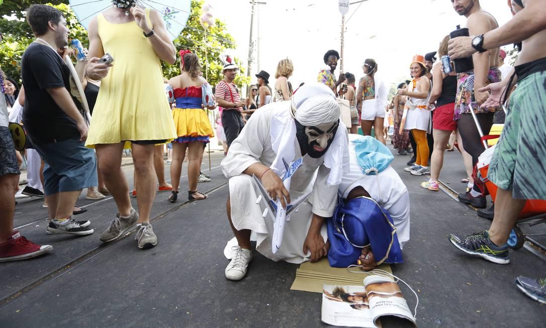 Mas quando abria o livro sagrado... Ana Branco / Agência O Globo