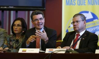 Ministro da Saúde colombiano Alejandro Gaviria Foto: ANDRES STAPFF / REUTERS