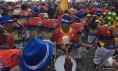 A Banda de Ipanema se concentra na praça General Osório e segue o desfile na orla Foto: Agência O Globo / Daniel Marenco
