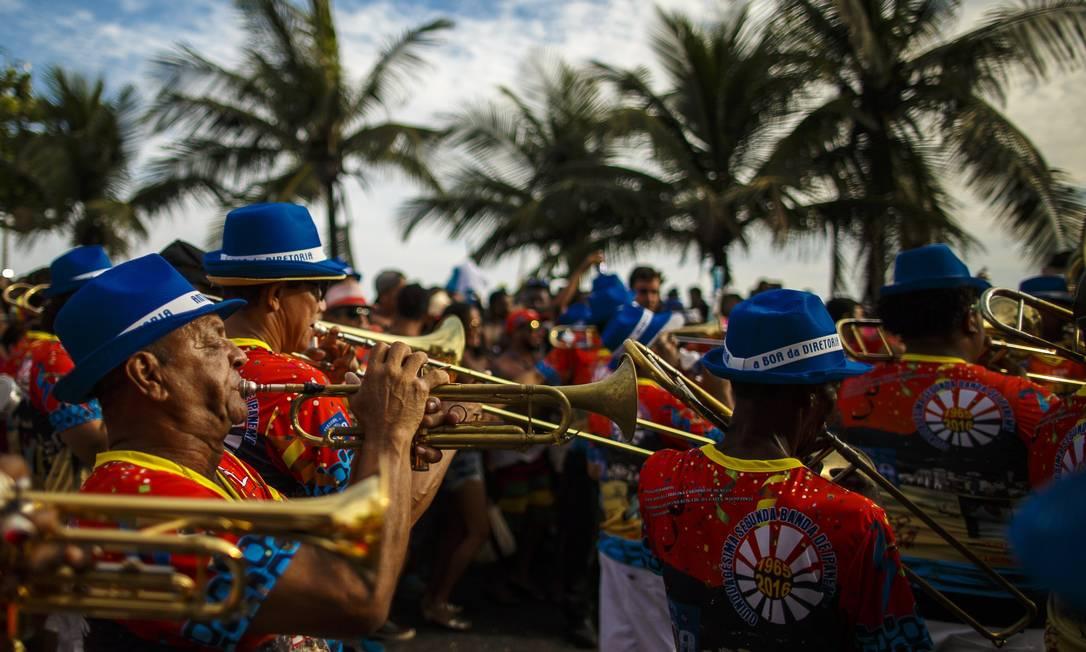 Os músicos da Banda de Ipanema Daniel Marenco / Agência O Globo