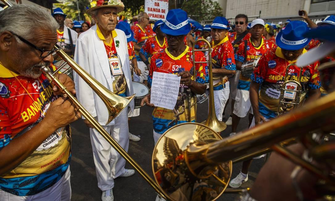 A Banda de Ipanema é um dos mais importantes blocos do carnaval carioca Daniel Marenco / Agência O Globo