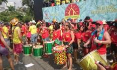 Bangalafumenga: bateria com arranjos novos Foto: Divulgação / Cissa Loureiro