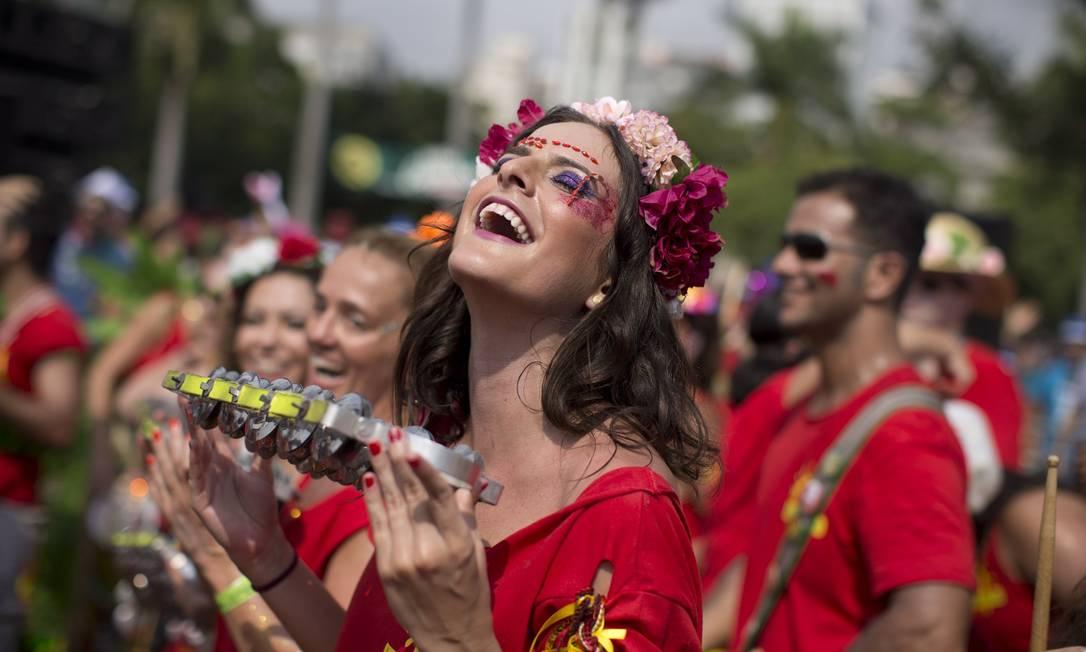 Fundado em 1998, o bloco é um dos mais populares do carnaval carioca Márcia Foletto / Agência O Globo