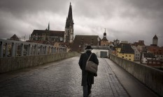 Escândalo. A Catedral de São Pedro, em Ratisbona, na Alemanha: coro sob investigação de abusos físicos e sexuais Foto: GORDON WELTERS / gordon welters/NYT