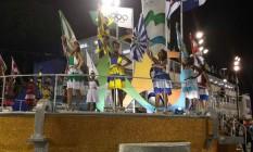 Representantes de todas as escolas na Sapucaí Foto: Vera Araújo / O Globo