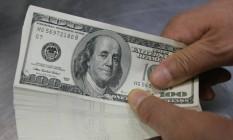 Notas de US$ 100 Foto: Choi Bu-Seok/Reuters