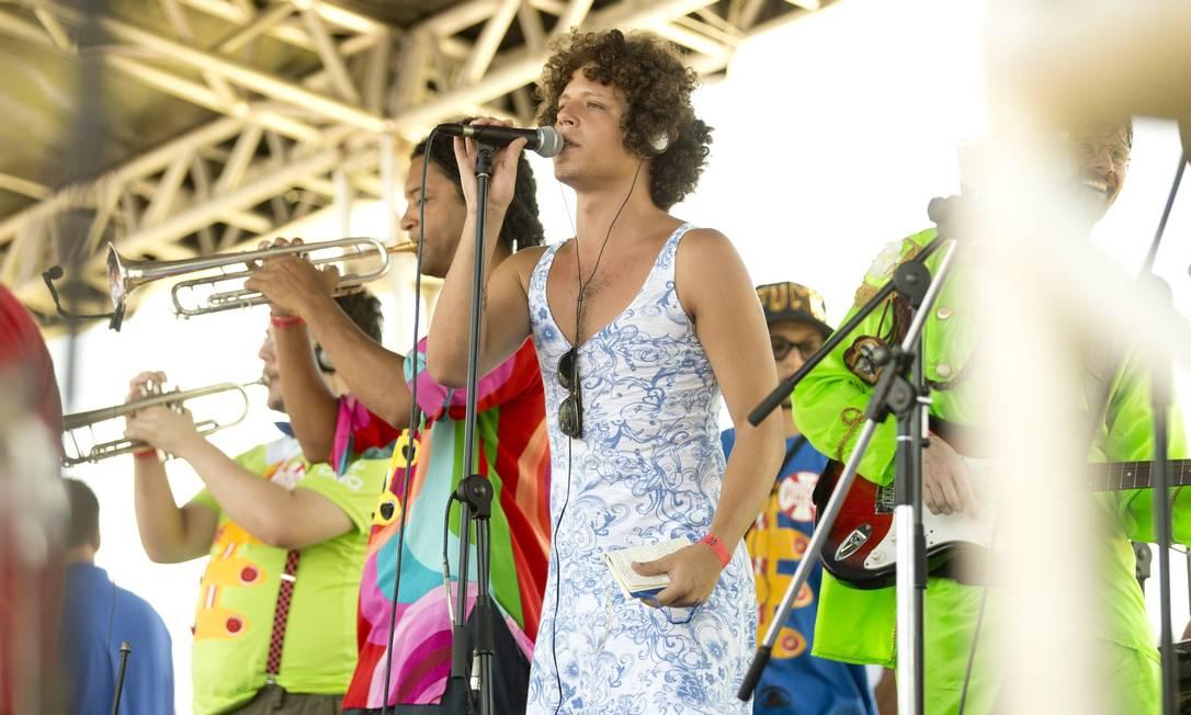 Filho da cantora Cássia Eller, Chicão fez uma participação no Sargento Pimenta Márcia Foletto / Agência O Globo