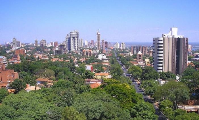 Assunção, no Paraguai Foto: Creative Commons