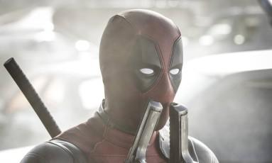 Ryan Reynolds em cena do filme 'Deadpool' Foto: Divulgação
