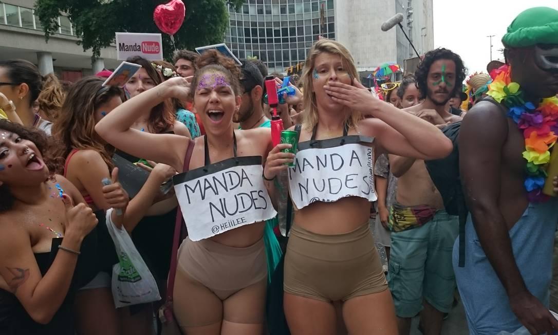 As mulheres querem ter liberdade para sair vestidas do jeito que quiserem Amanda Prado / Amanda Prado