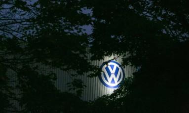 Fábrica da Volkswagen na Alemanha Foto: Krisztian Bocsi / Bloomberg