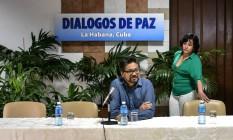 Ivan Márquez, que representa a delegação das Farc, havia rejeitado consulta popular Foto: ADALBERTO ROQUE / AFP