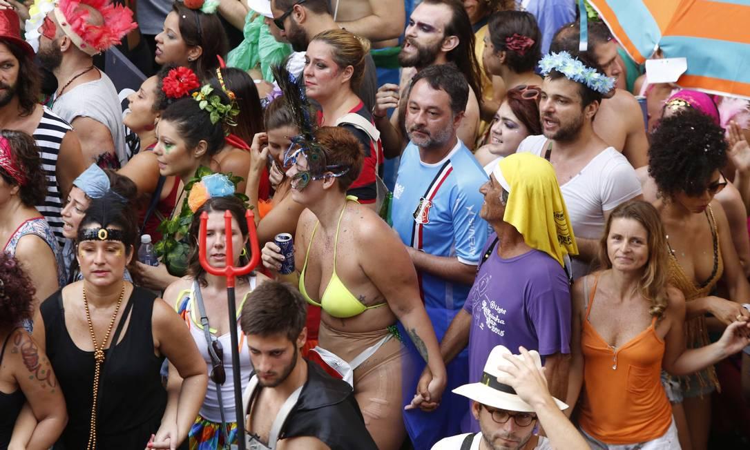 A liberdade é um dos espíritos do carnaval Ana Branco / Agência O Globo